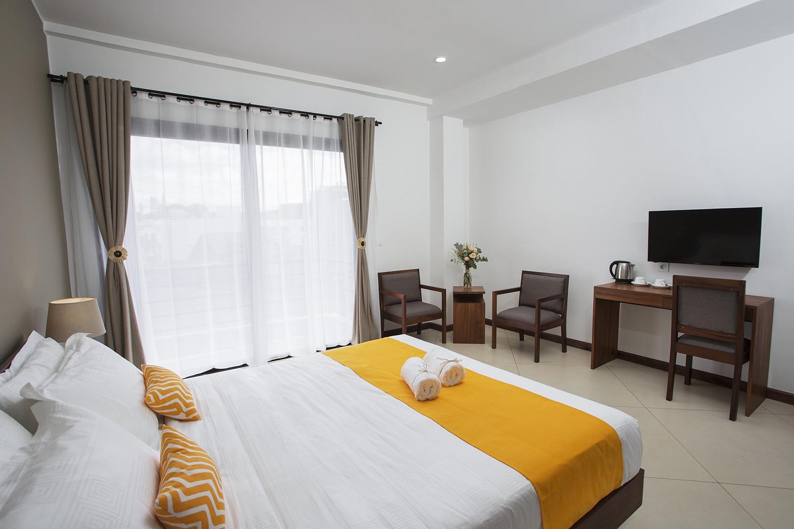 Tsanga Tsanga Superior Double Room Sides