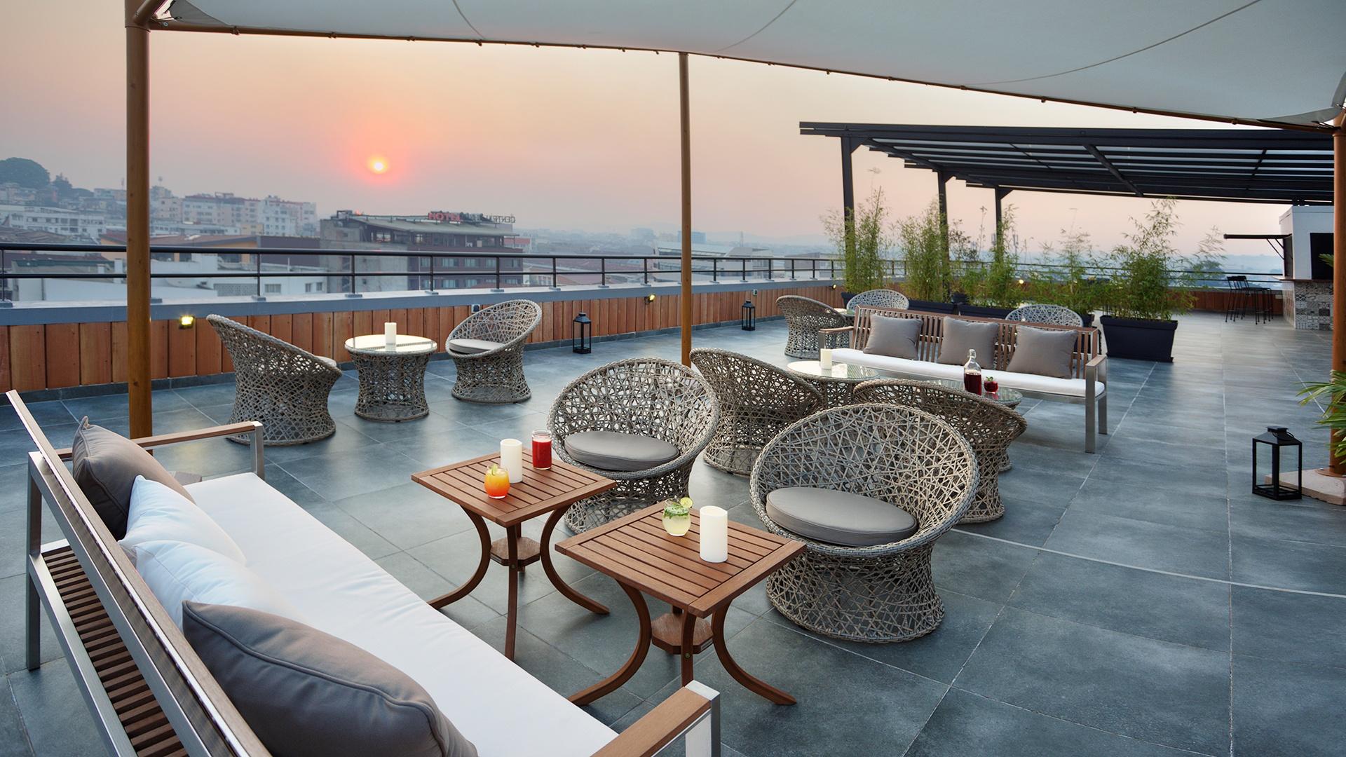 Tsanga Tsanga Hotel Rooftop Terrace