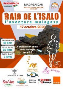 Raid Isalo 17 octobre 2020