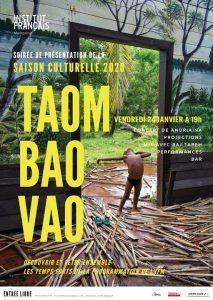 Taom-Bao-Vao-2020-saison-culturelle-Institut-Francais-de-Madagascar-Poster-213x300